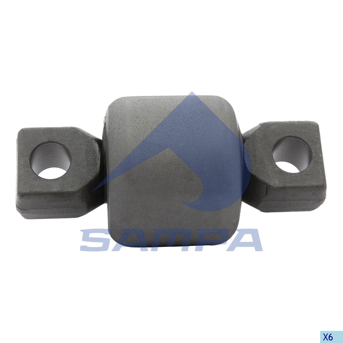 Rubber Bushing, Axle Rod, Kenworth, Suspension