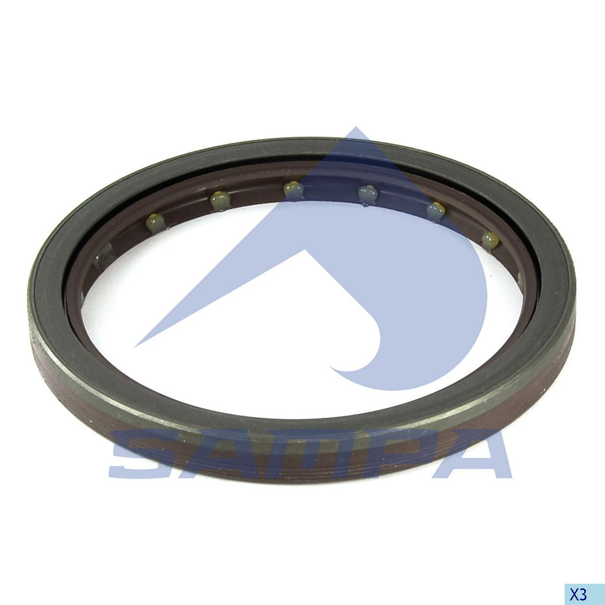 Seal Ring, Wheel Hub, Mercedes, Power Unit