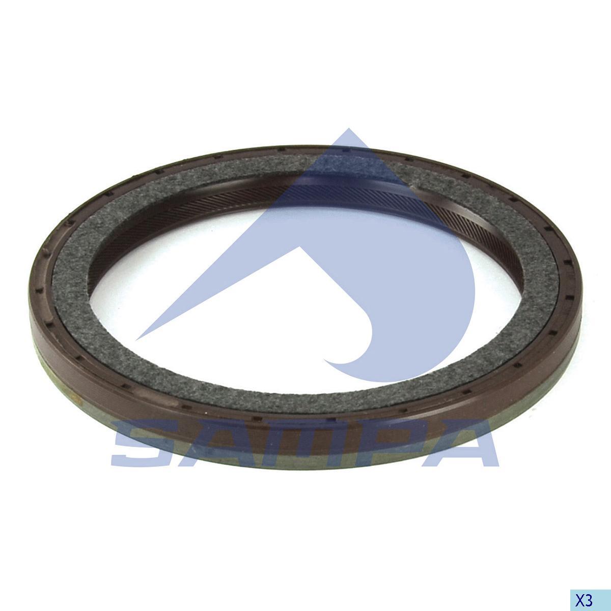 Seal Ring, Crank Shaft, Mercedes, Engine