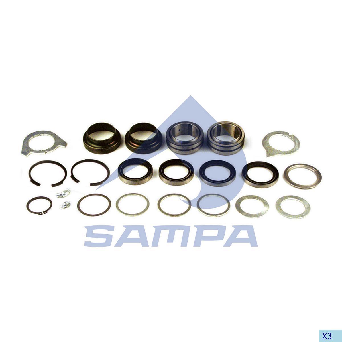 Repair Kit, Brake Cam Shaft, Mercedes, Brake