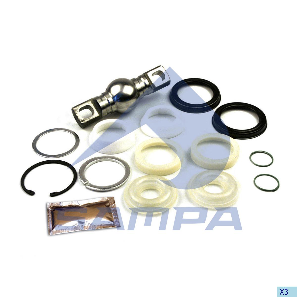 Repair Kit, Axle Rod, Mercedes, Suspension