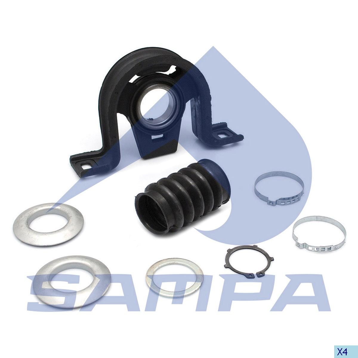 Repair Kit, Propeller Shaft Bearing, Mercedes, Propeller Shaft