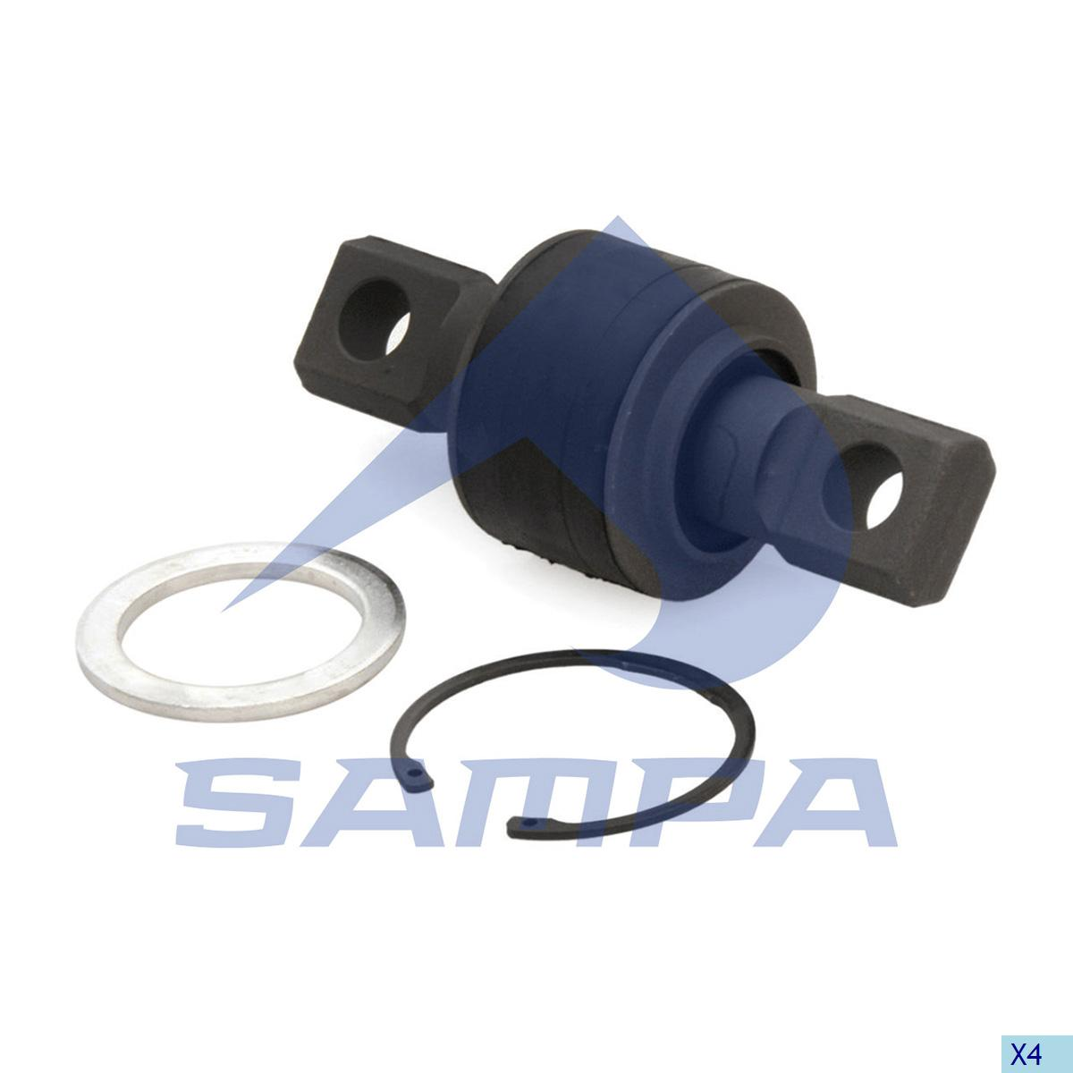 Repair Kit, Axle Rod, Mercedes, Suspension