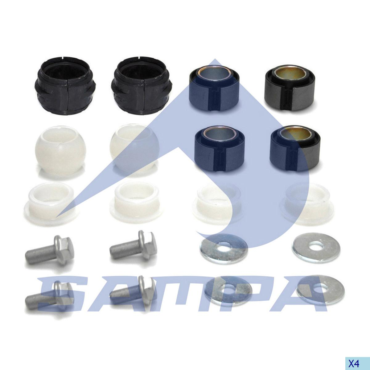 Repair Kit, Stabilizer Bar, Mercedes, Suspension