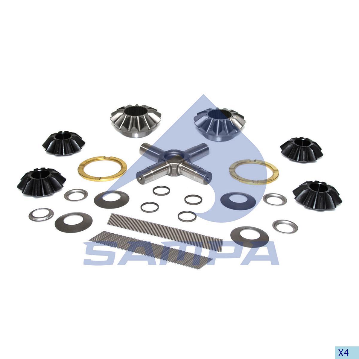 Repair Kit, Differential, Mercedes, Power Unit