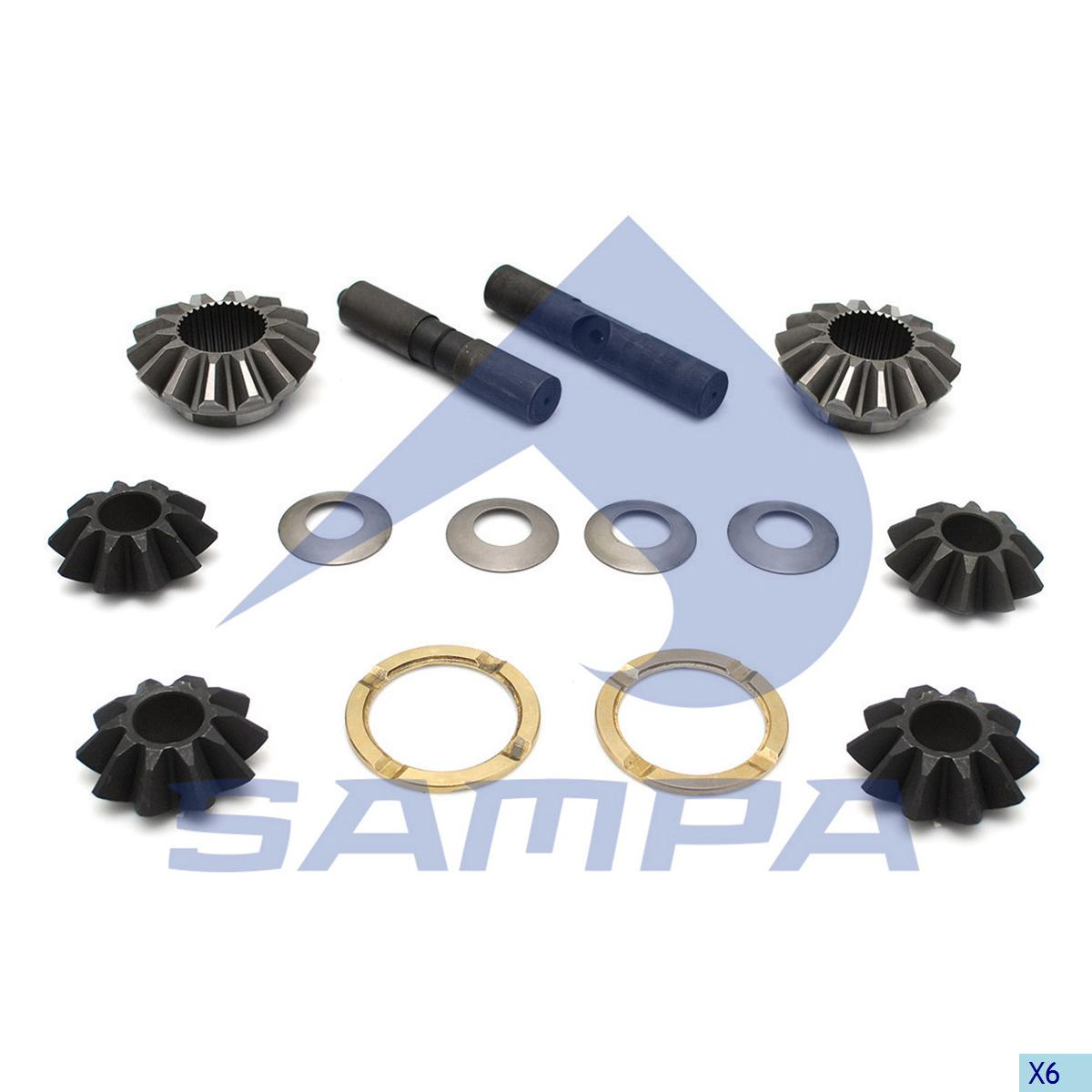 Repair Kit, Differential Spider, Mercedes, Power Unit