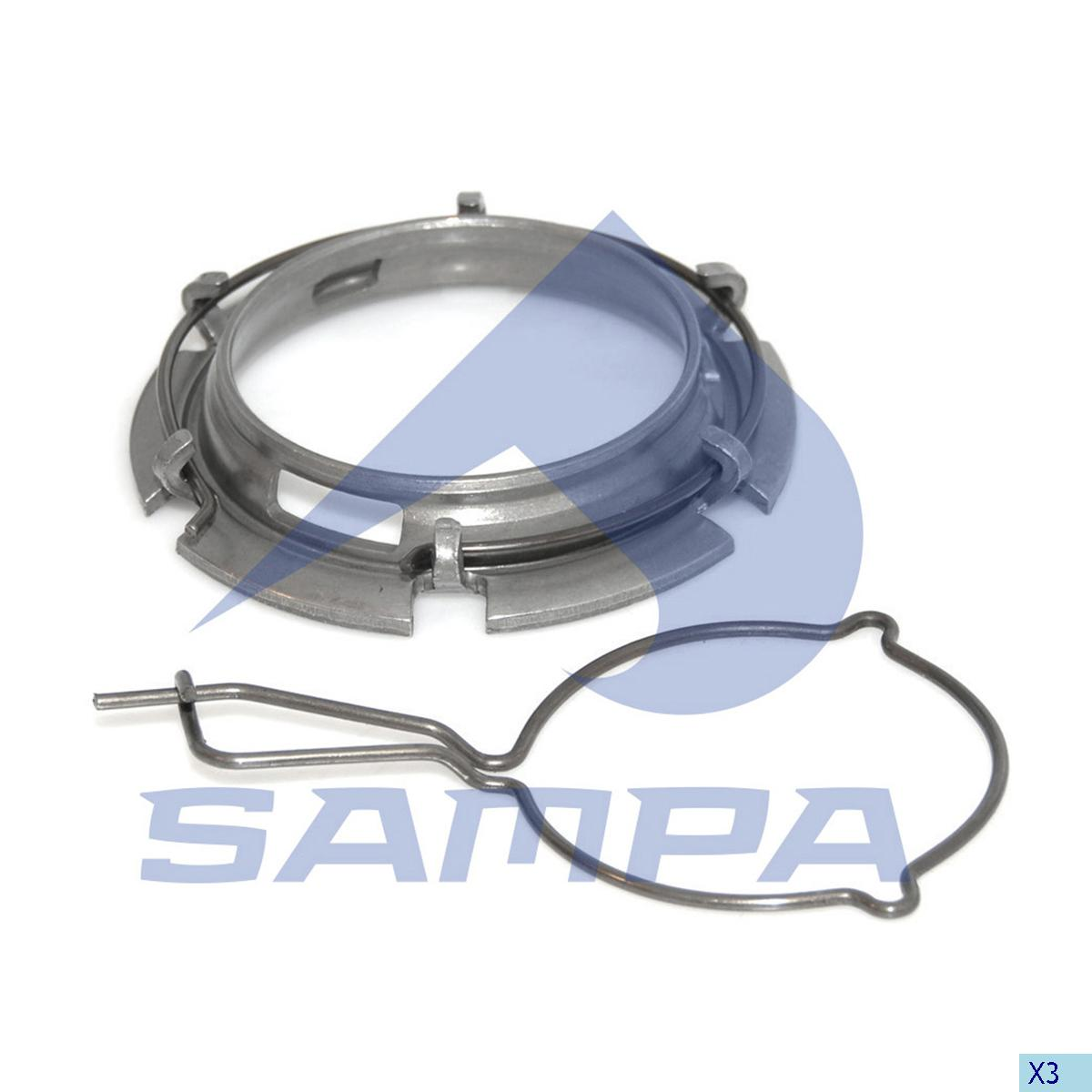 Bearing Kit, Clutch Release Bearing, Mercedes, Clutch