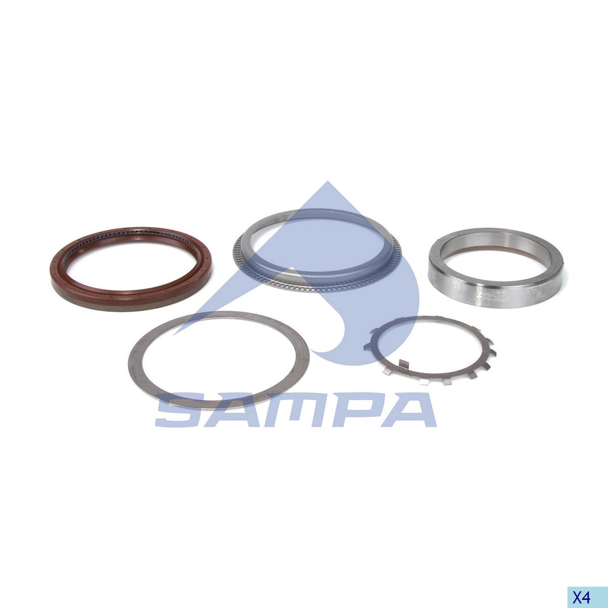 Repair Kit, Wheel Hub, Mercedes, Power Unit