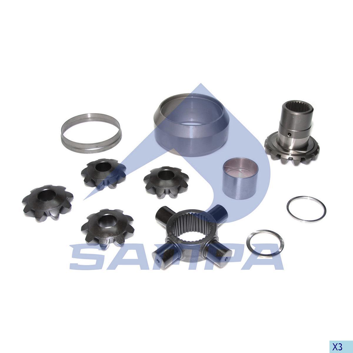 Repair Kit, Distribution Shaft, Mercedes, Power Unit
