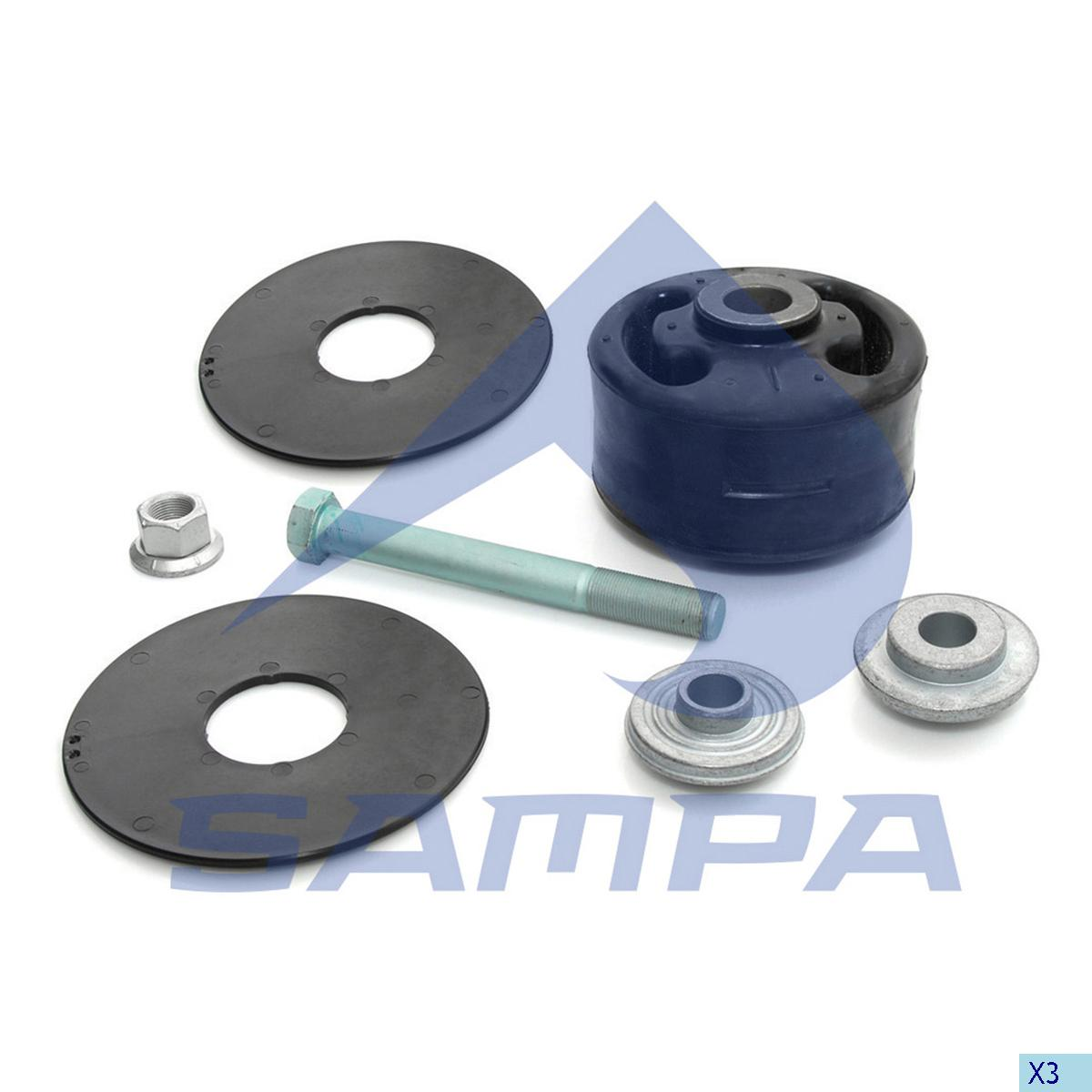 Repair Kit, Balance Arm Axle, Mercedes, Power Unit