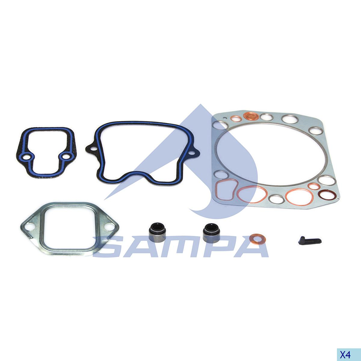 Gasket Kit, Cylinder Head, Mercedes, Engine