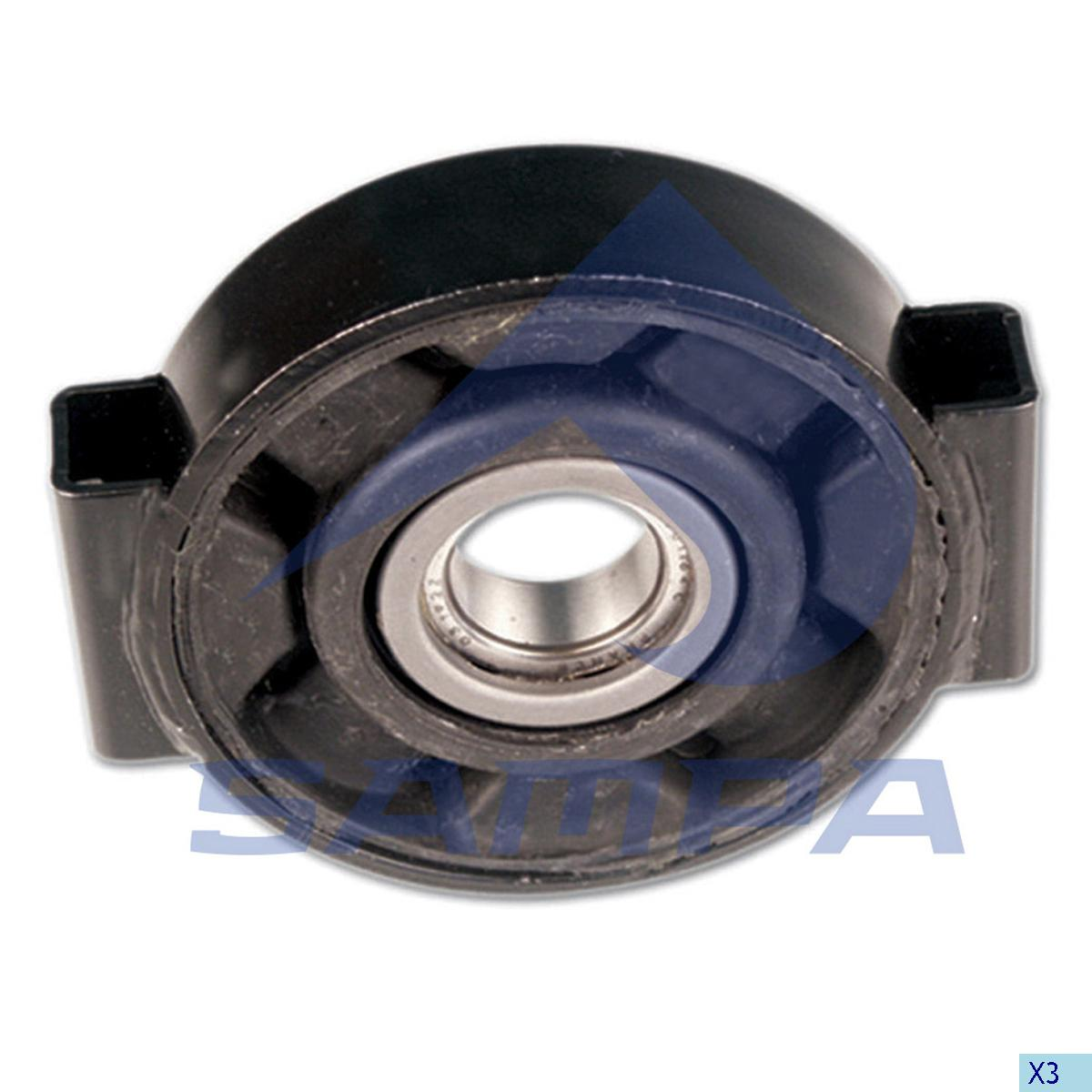Propeller Shaft Bearing, Mercedes, Propeller Shaft