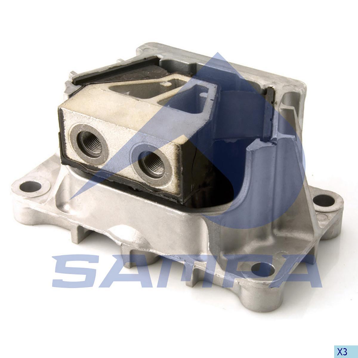Mounting, Engine, Mercedes, Engine