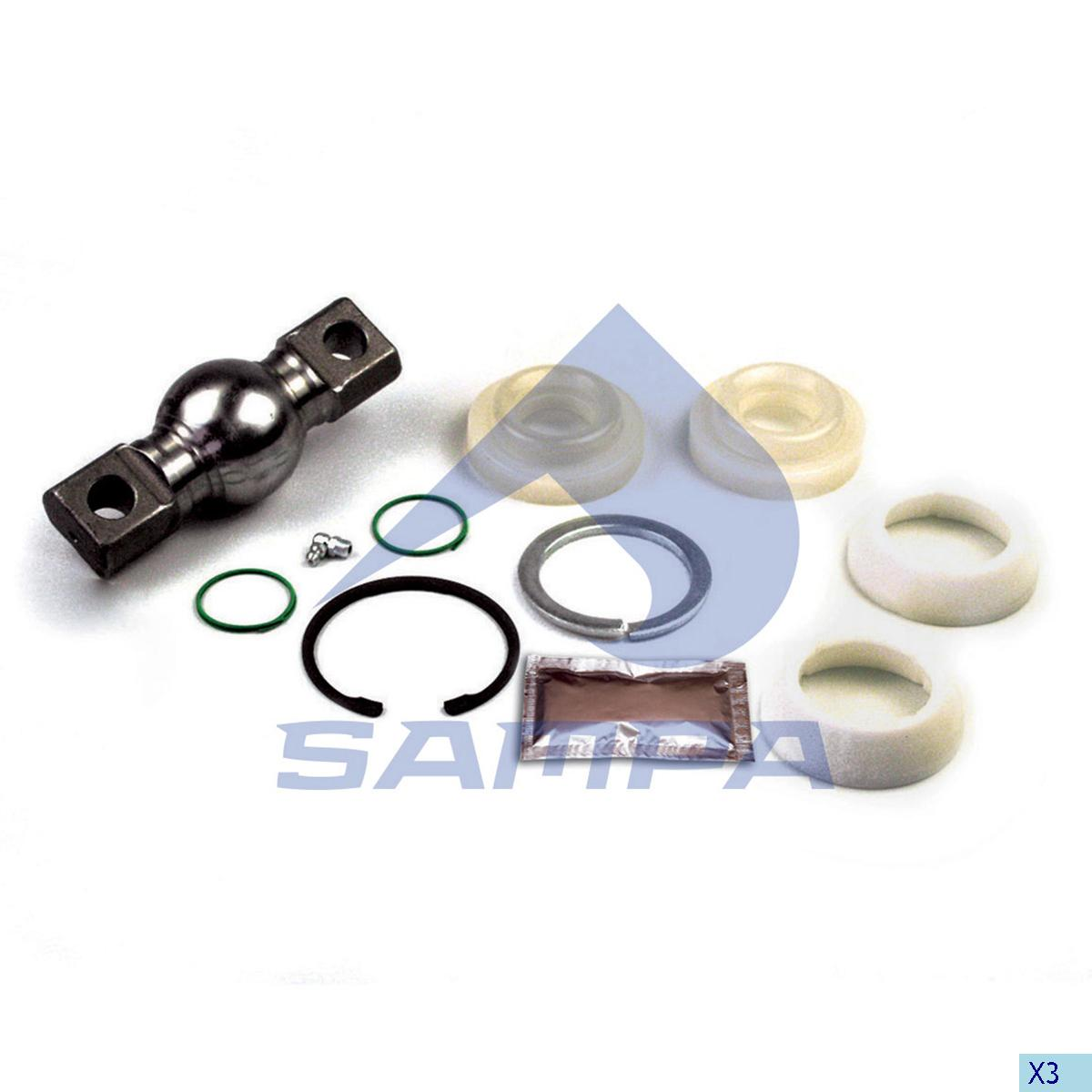 Repair Kit, Axle Rod, R.V.I., Suspension