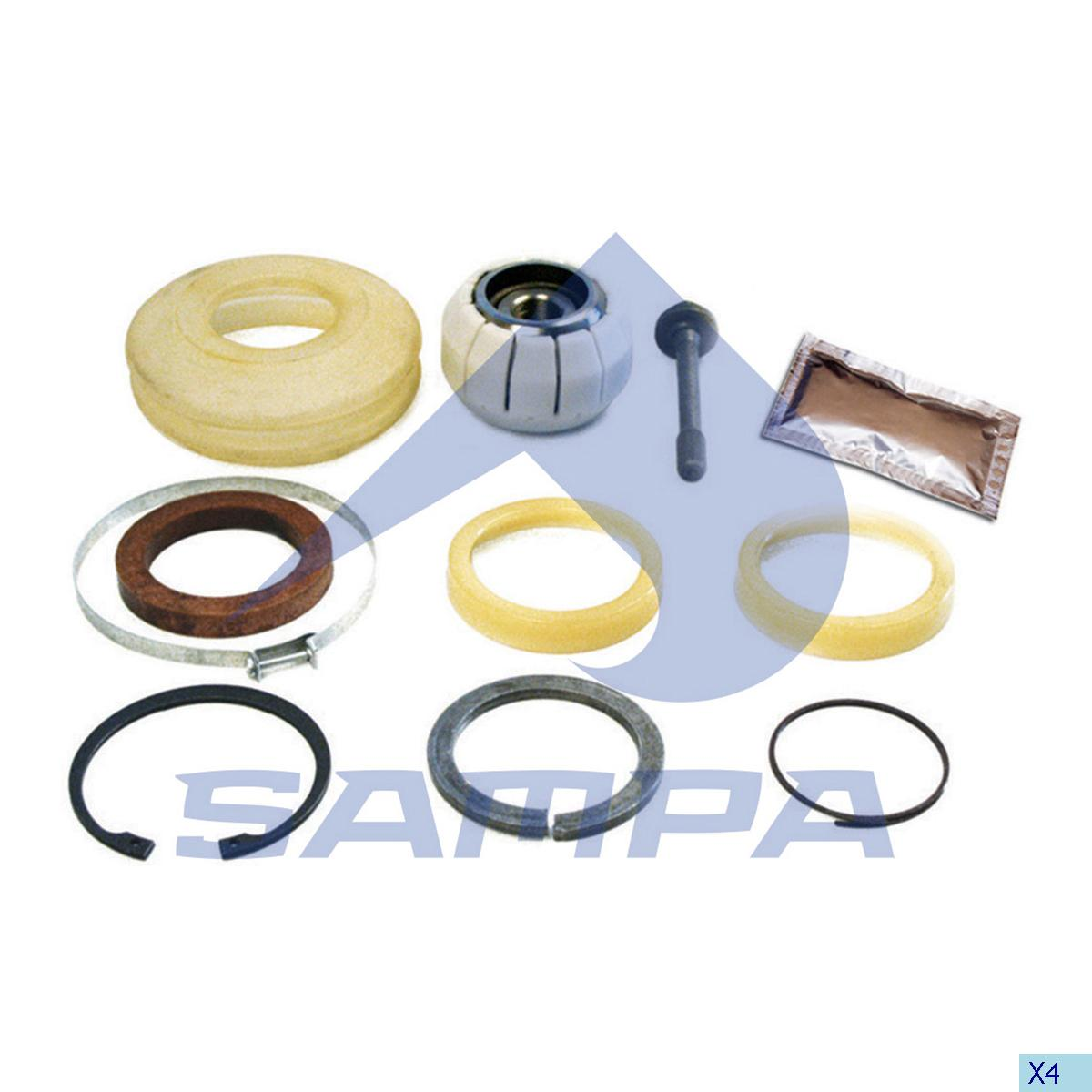 Repair Kit, Axle Rod, Man, Suspension