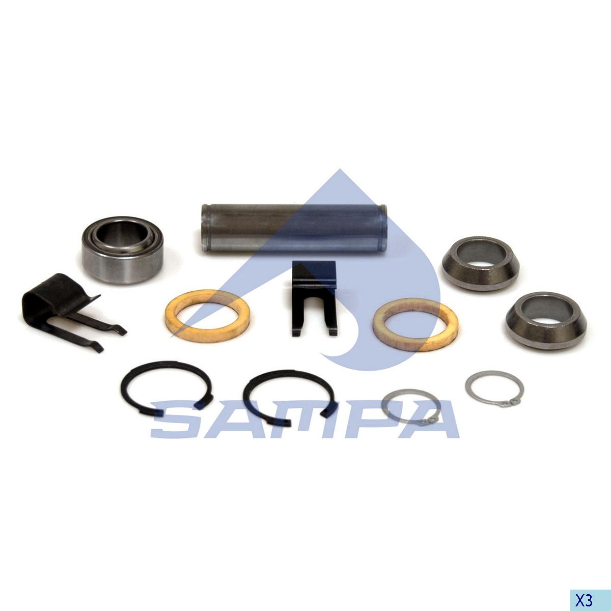 Repair Kit, Clutch Fork, Man, Clutch