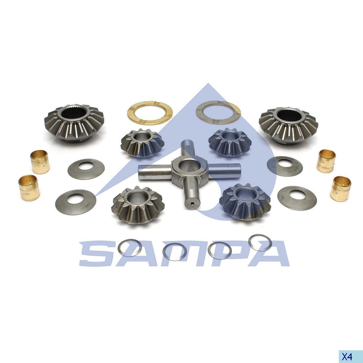 Repair Kit, Differential, Man, Power Unit