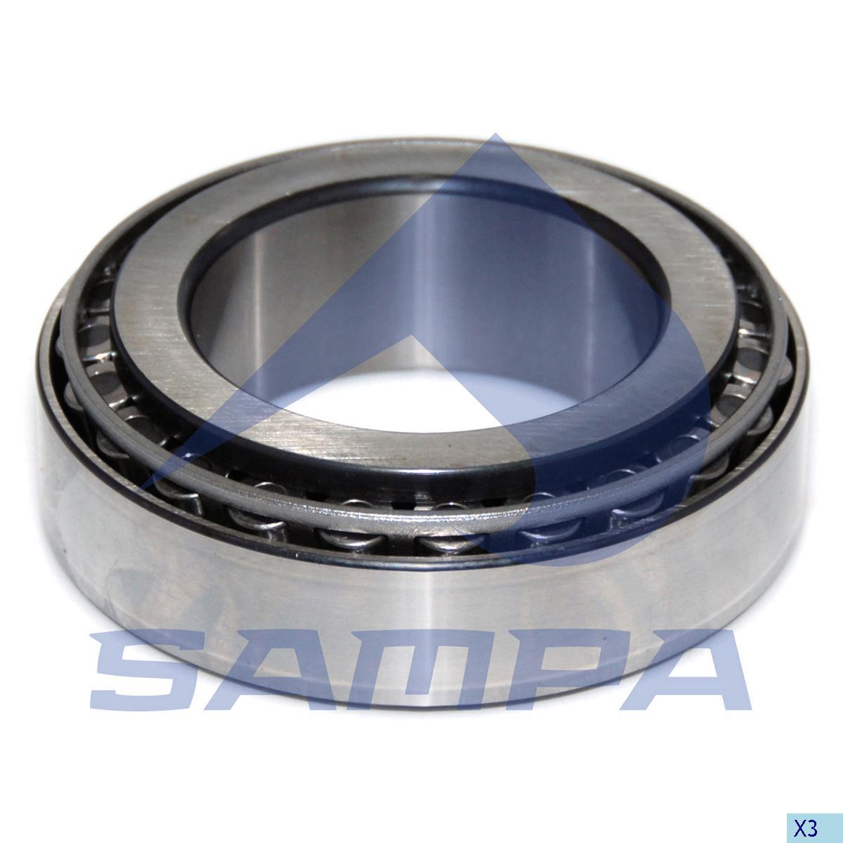 Bearing, Wheel Hub, Mercedes, Power Unit