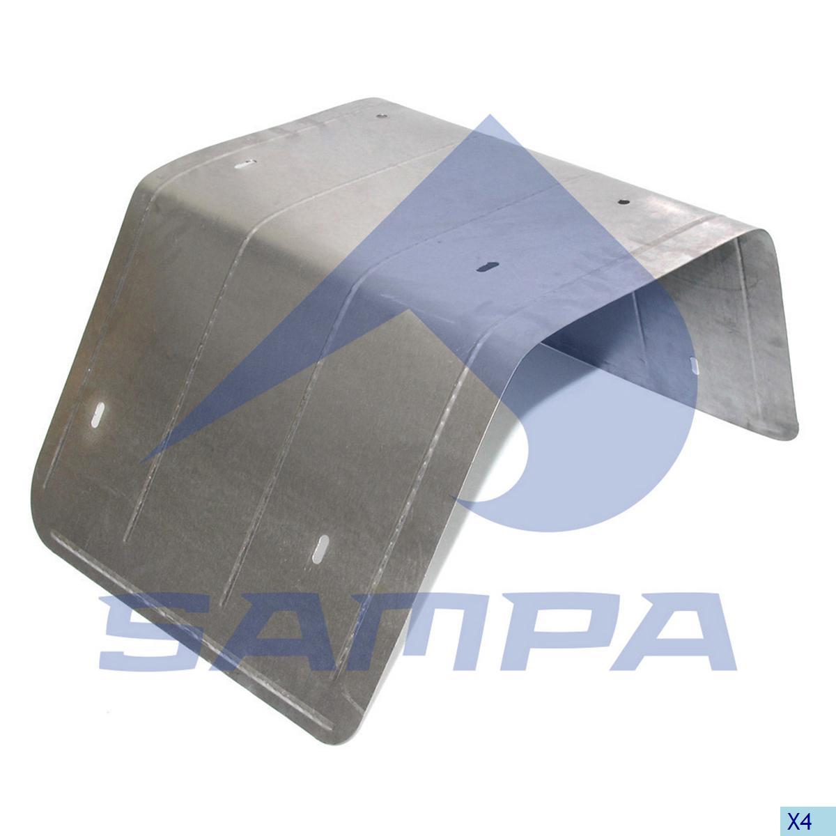 Heat Shield, Exhaust, Man, Engine
