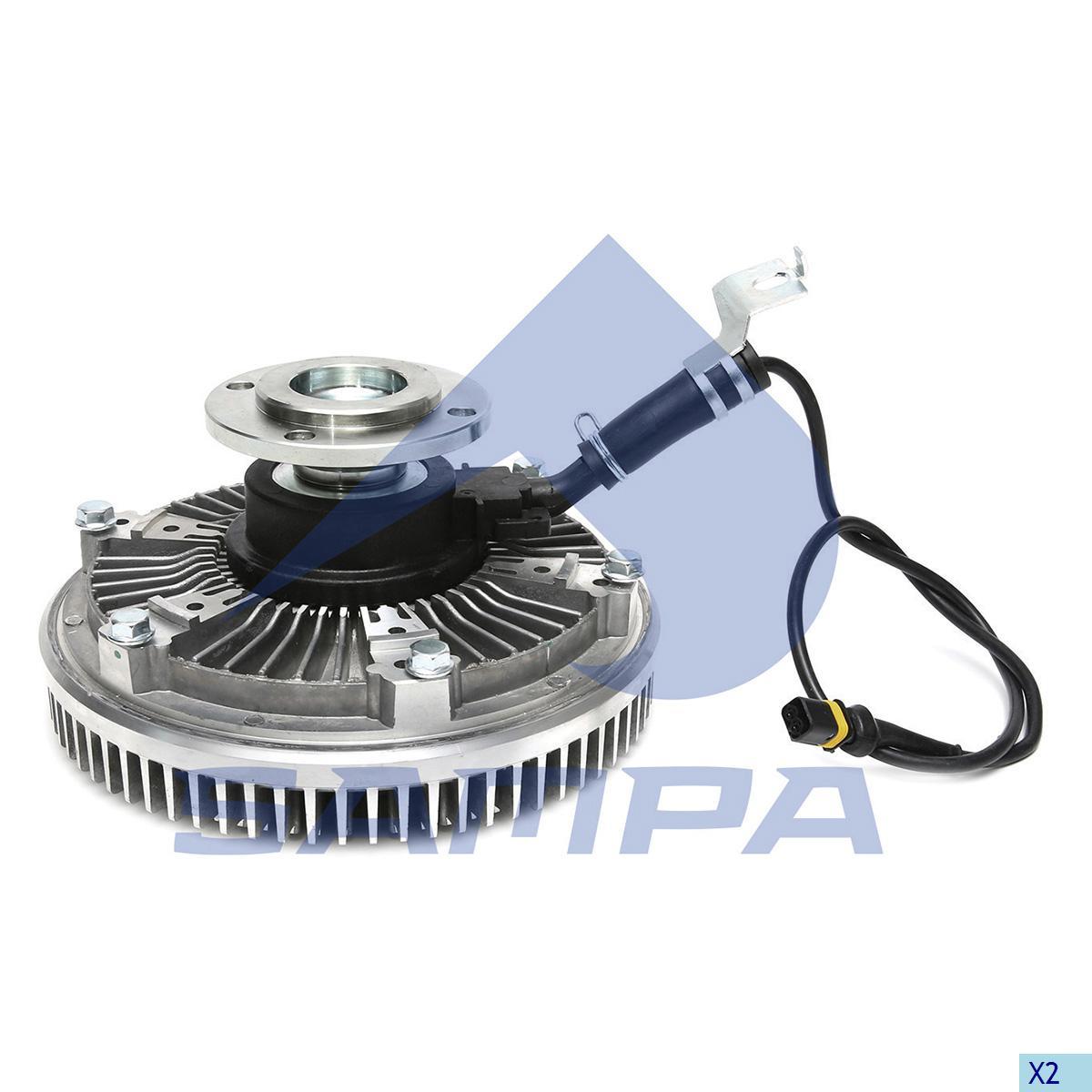 Visco Drive, Fan, Man, Engine