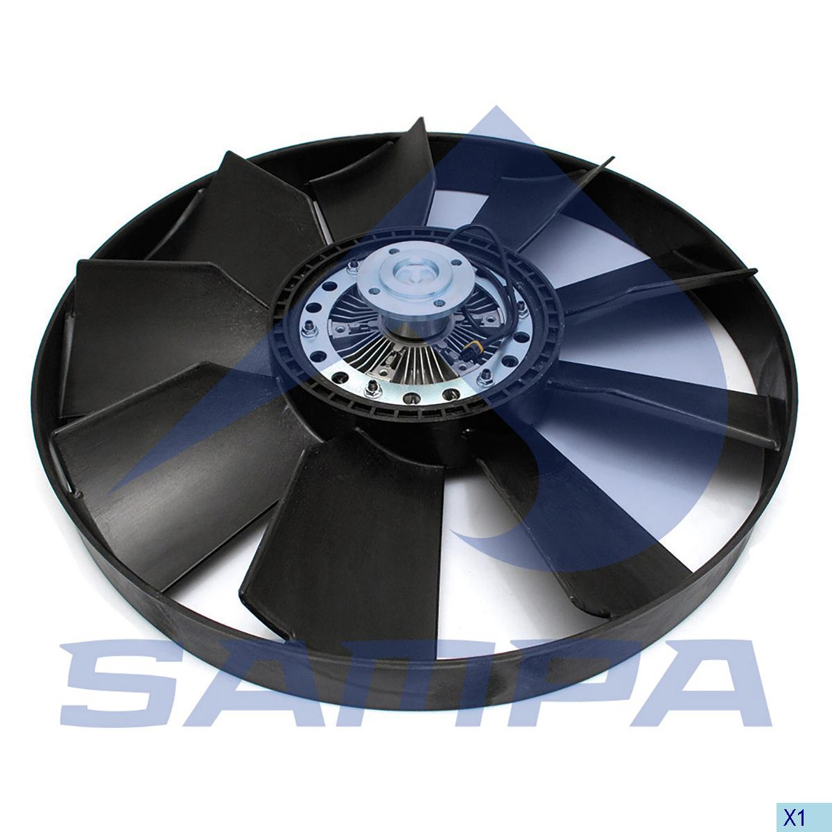 Visco Fan, Man, Engine