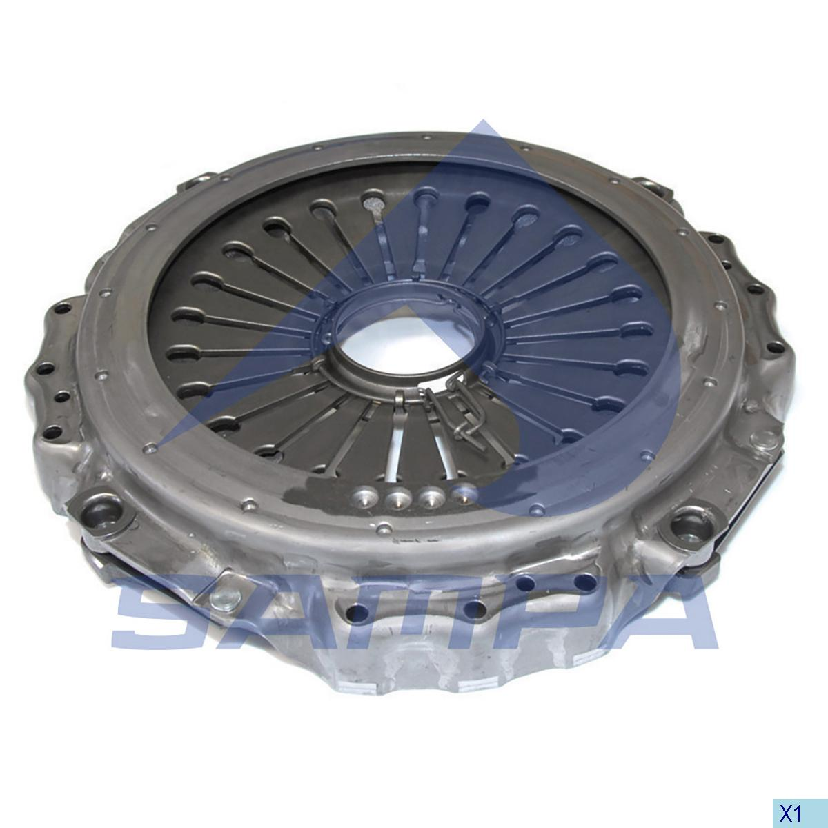 Pressure Plate, Clutch, Iveco, Clutch