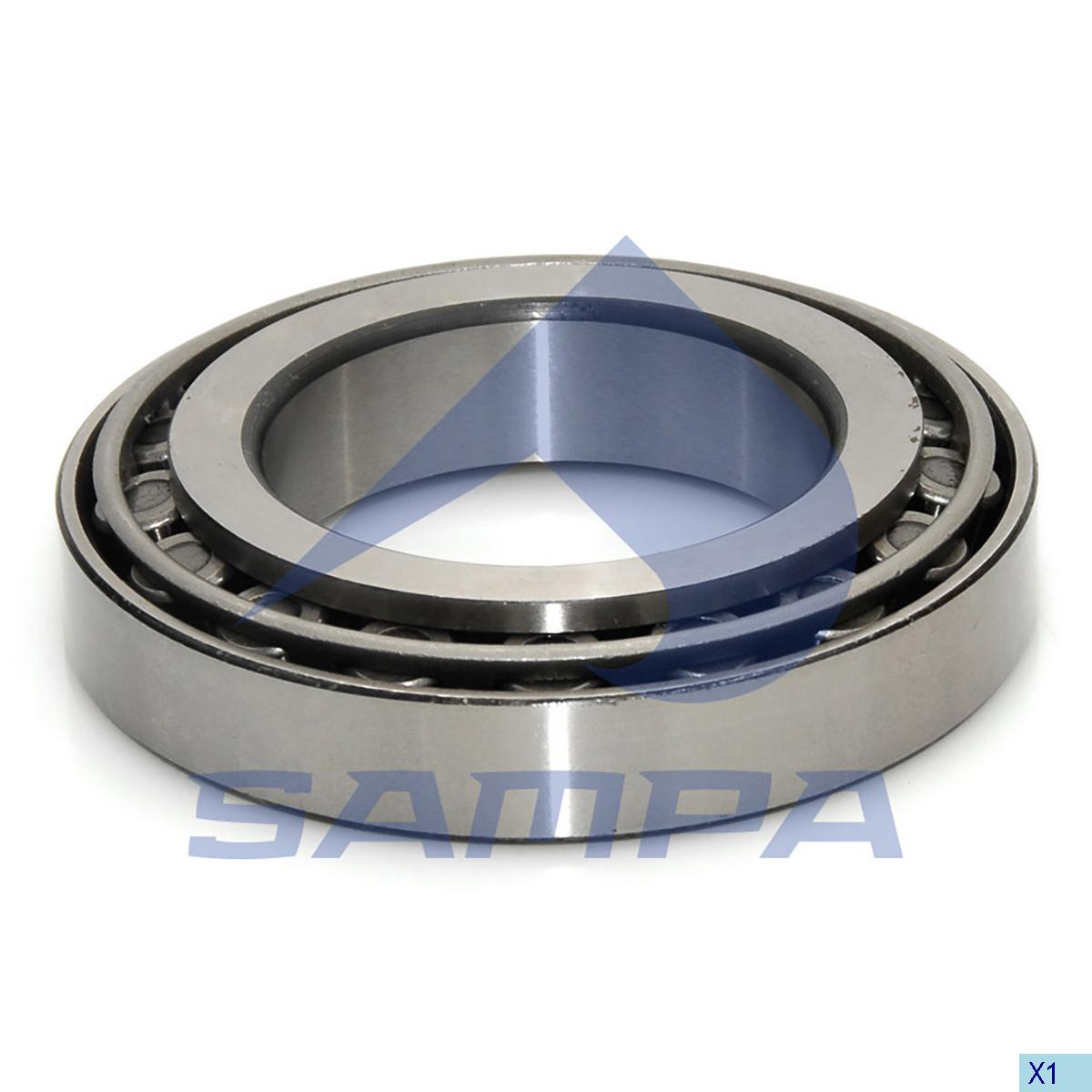 Bearing, Wheel Hub, Man, Power Unit