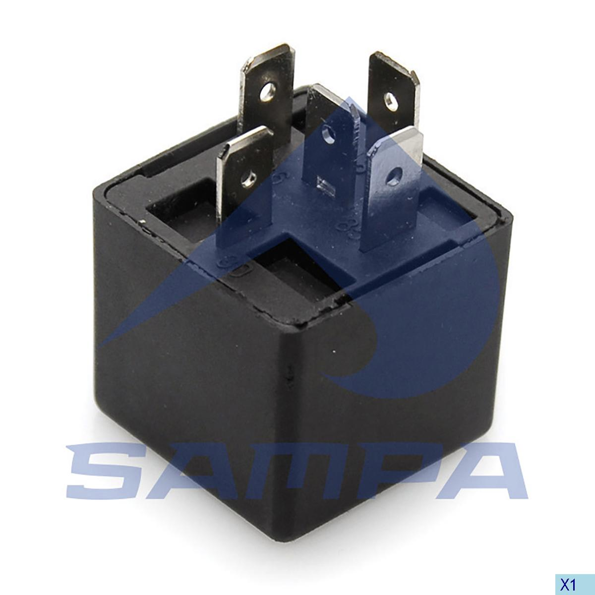 Relay, Central Electric Unit, Daf, Electric System