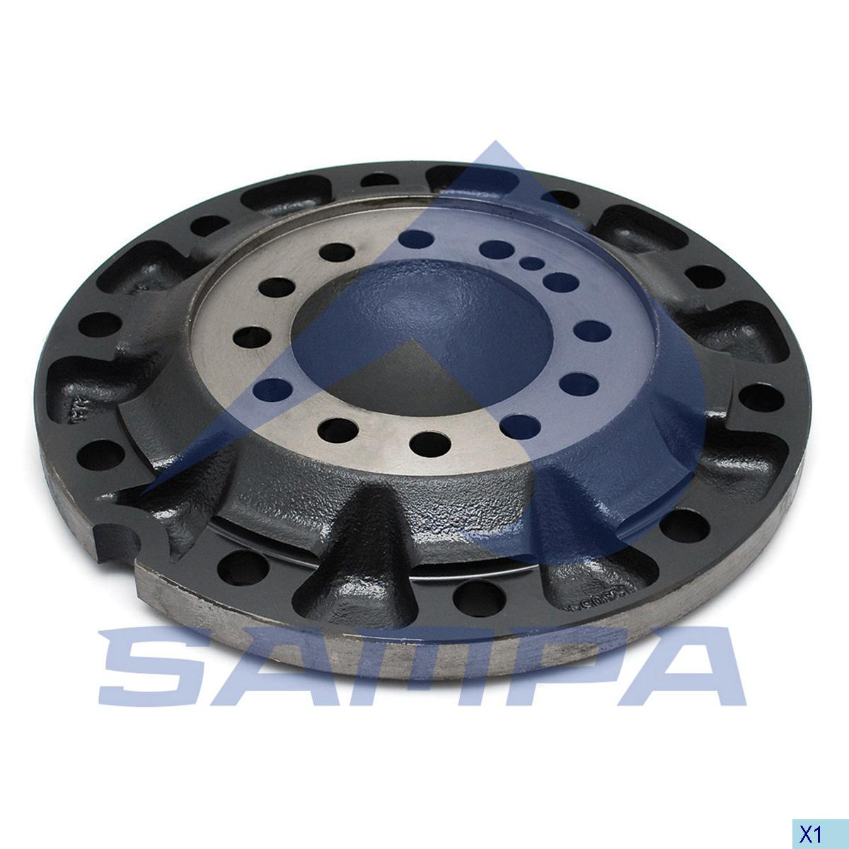 Flange, Wheel Hub, Man, Power Unit