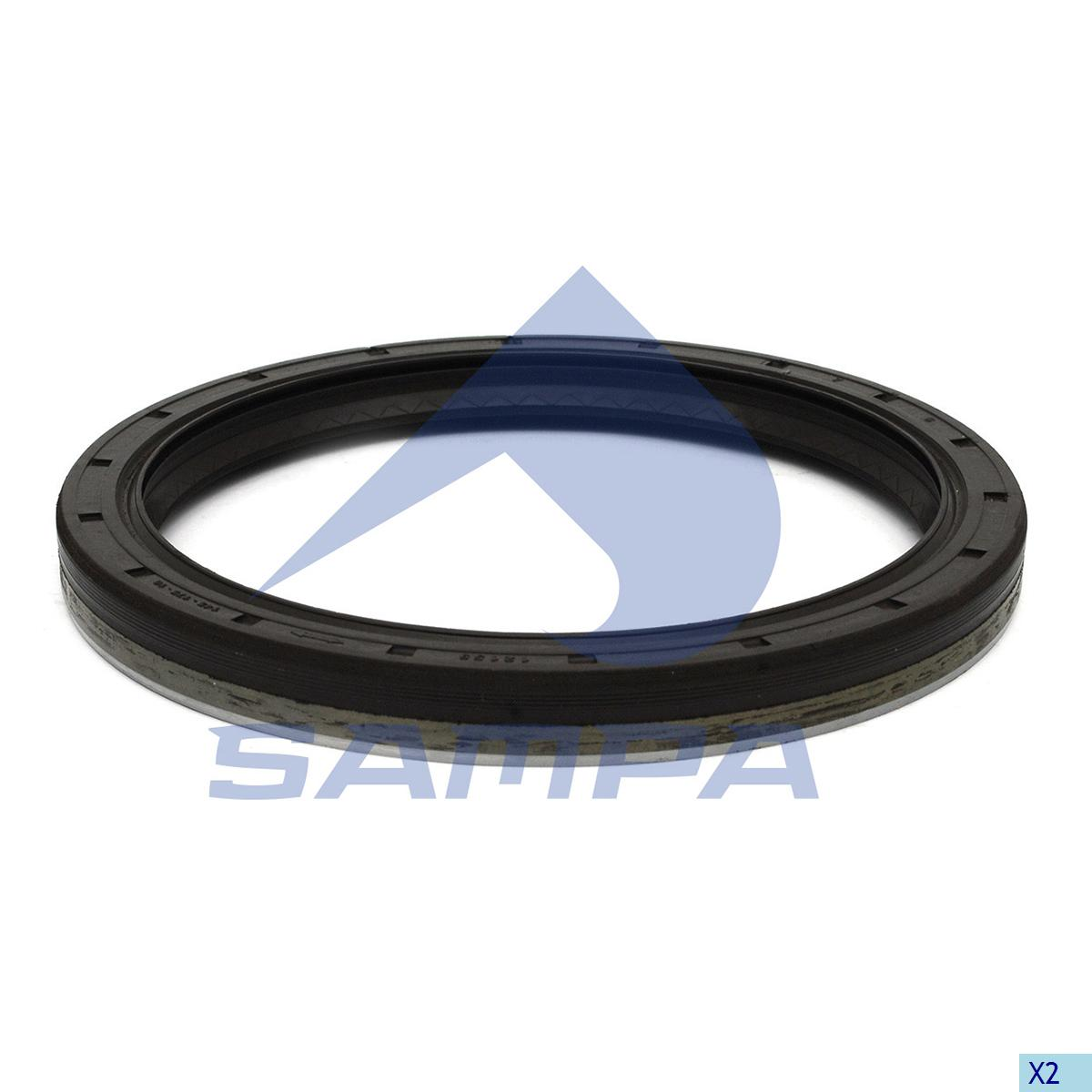Seal Ring, Wheel Hub, Man, Power Unit
