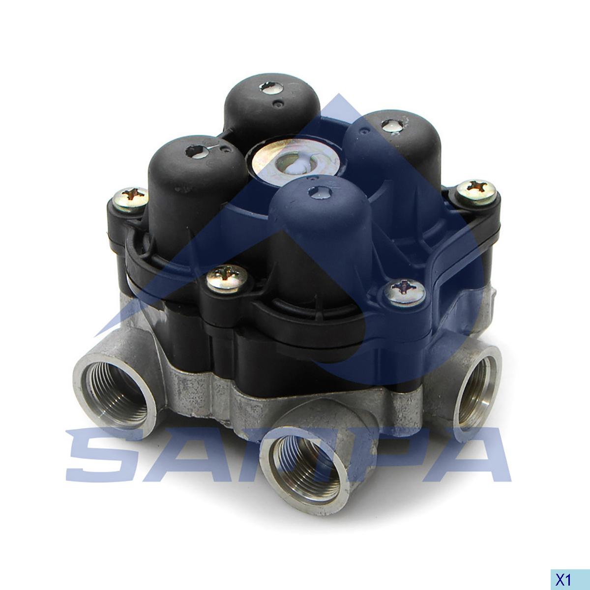 Safety Valve, Man, Compressed Air System