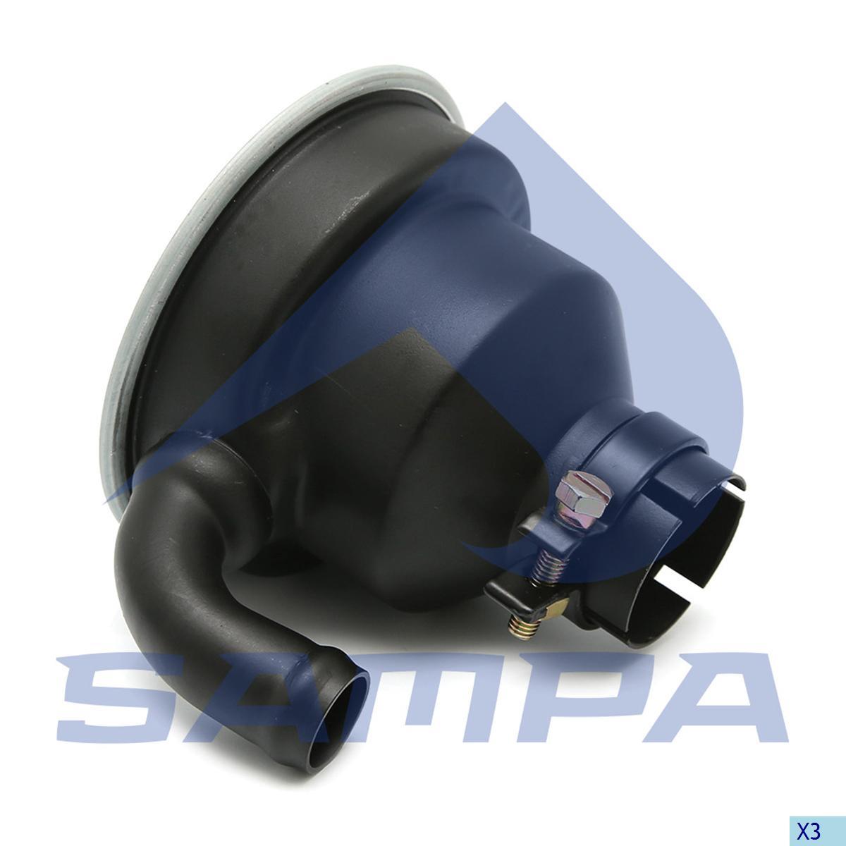 Filter, Cylinder Block Cover, Man, Engine