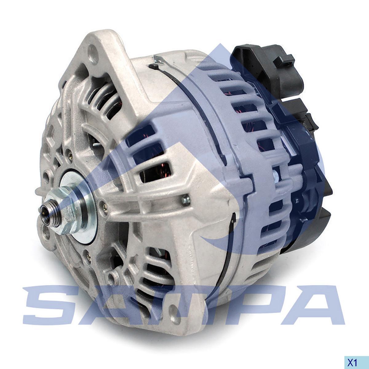 Alternator, Man, Electric System