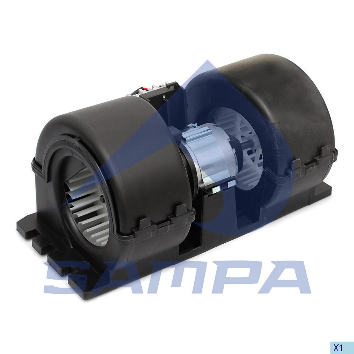 Fan Motor, Cab Heating & Ventilation, Man, Cab
