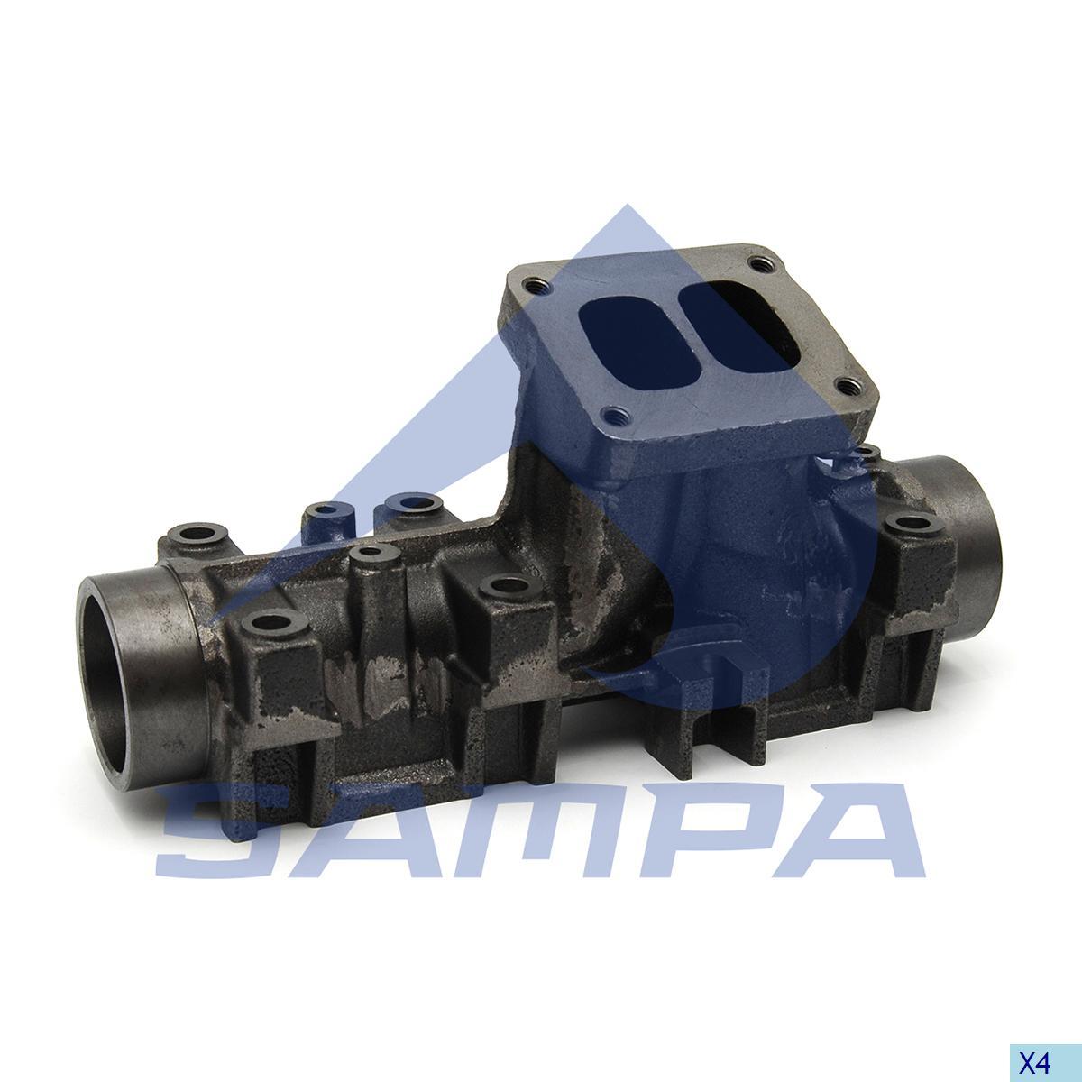 Exhaust Manifold, Man, Engine