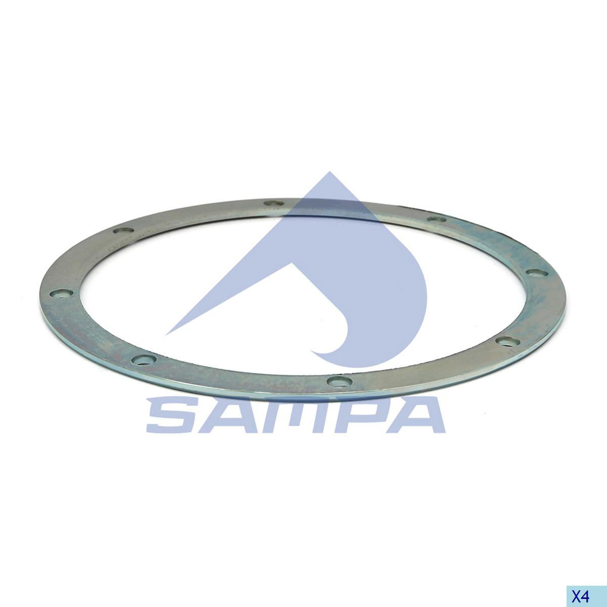 Thrust Washer, Bogie Suspension, Ror-Meritor, Suspension