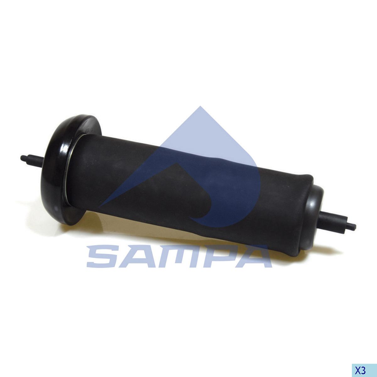 Air Spring, Bogie Suspension, Volvo, Suspension