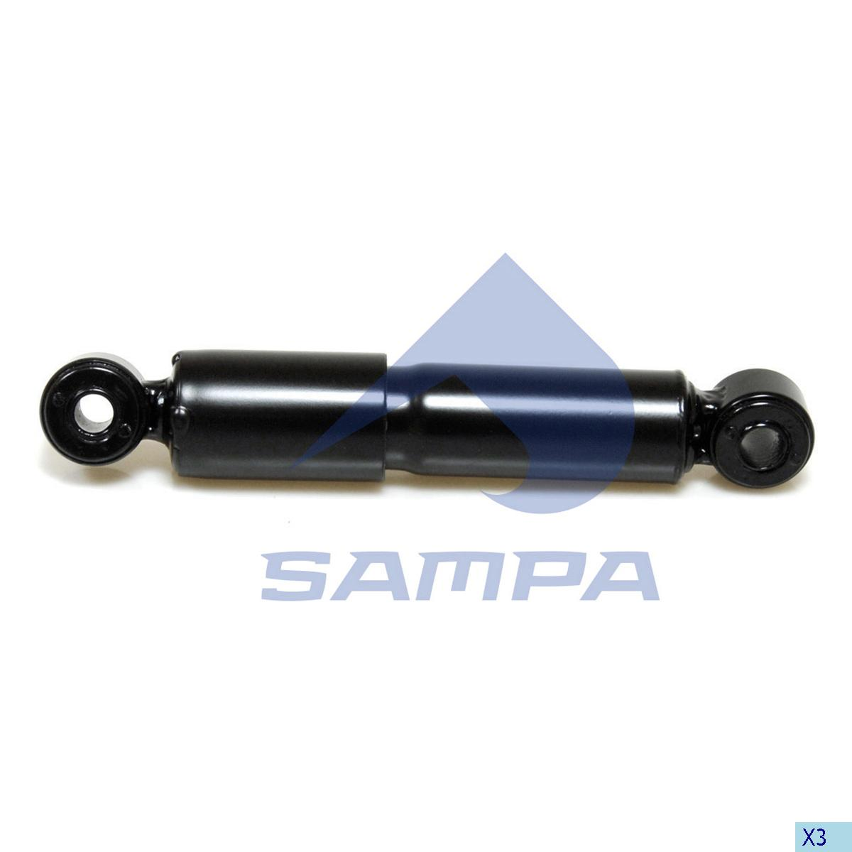 Shock Absorber, Cab, Volvo, Cab