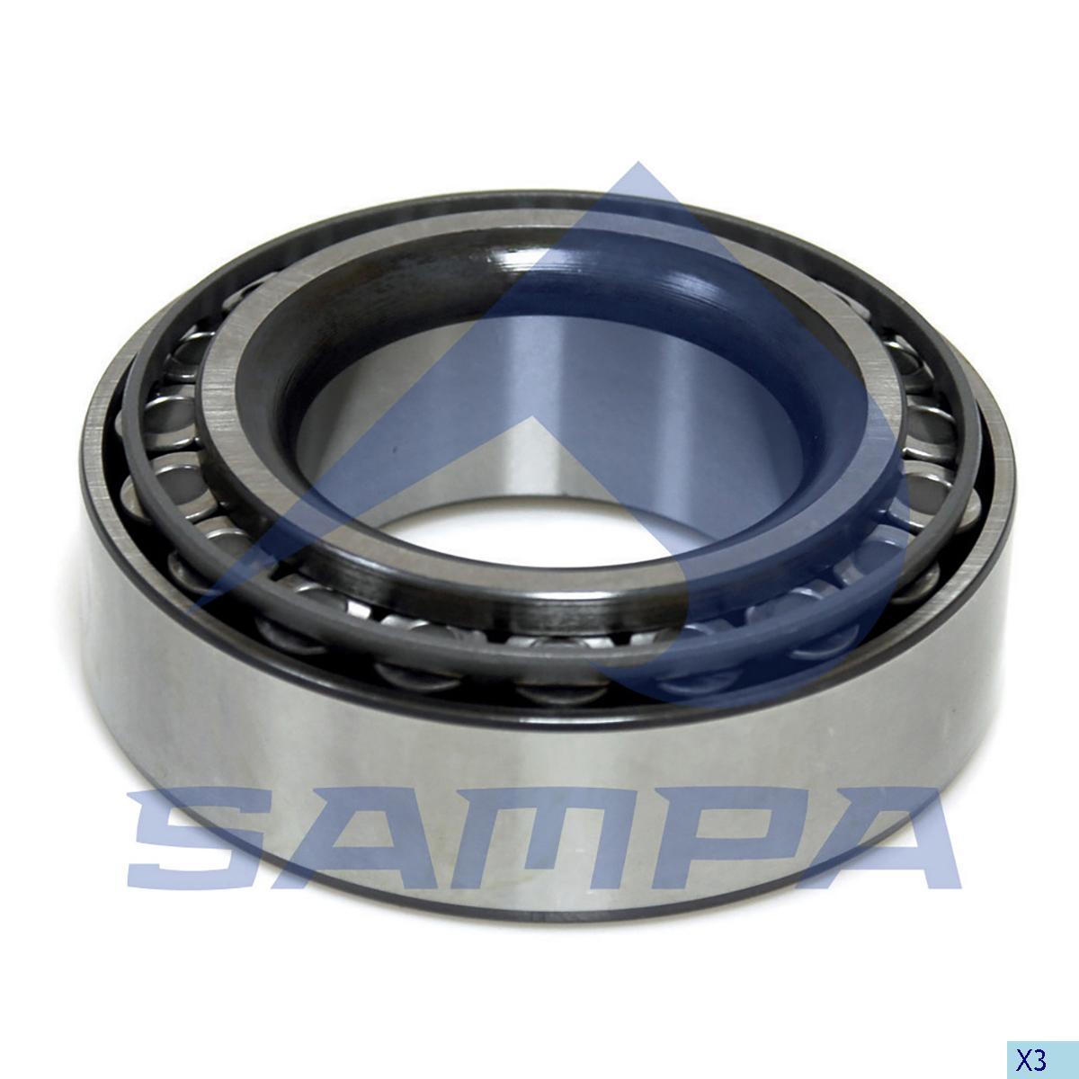 Bearing, Wheel Hub, Iveco, Power Unit
