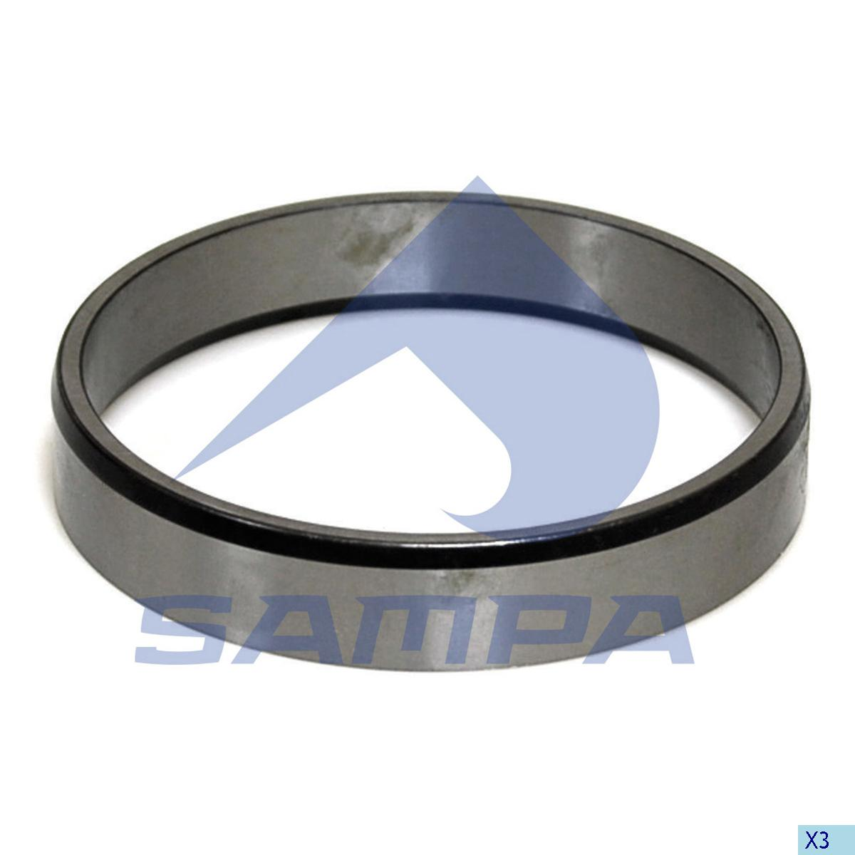 Thrust Ring, Wheel Hub, Volvo, Power Unit