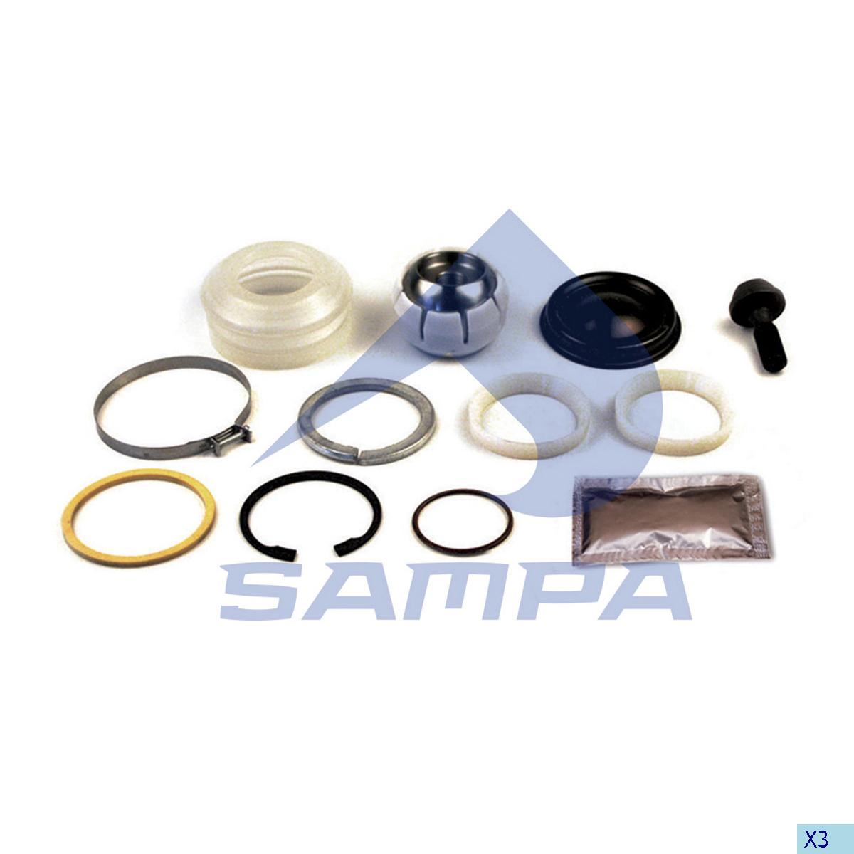 Repair Kit, Axle Rod, Volvo, Suspension