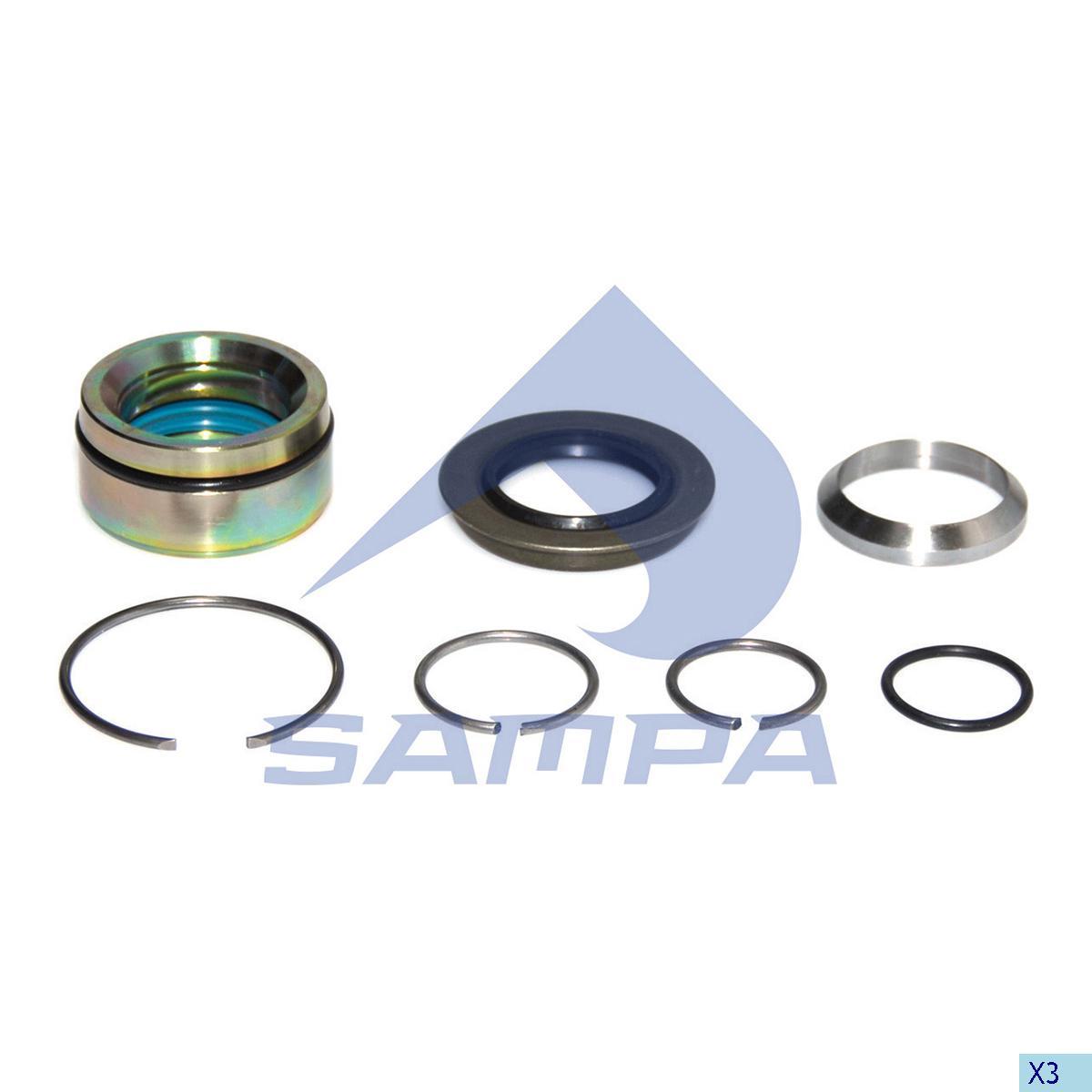 Repair Kit, Cab Tilt, Volvo, Cab