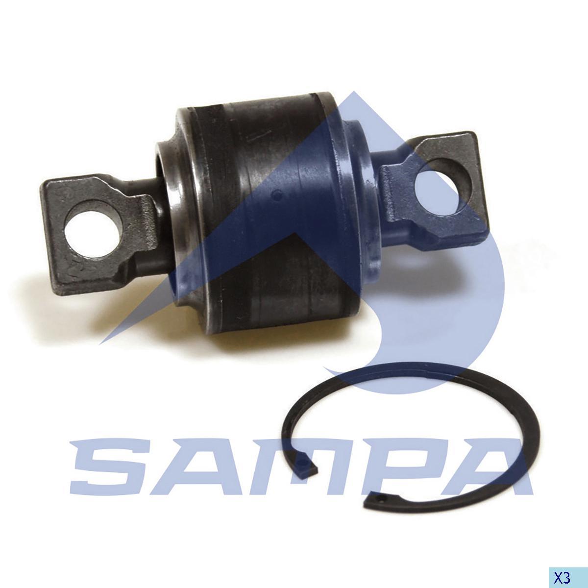 Repair Kit, Axle Rod, Volvo, Suspension