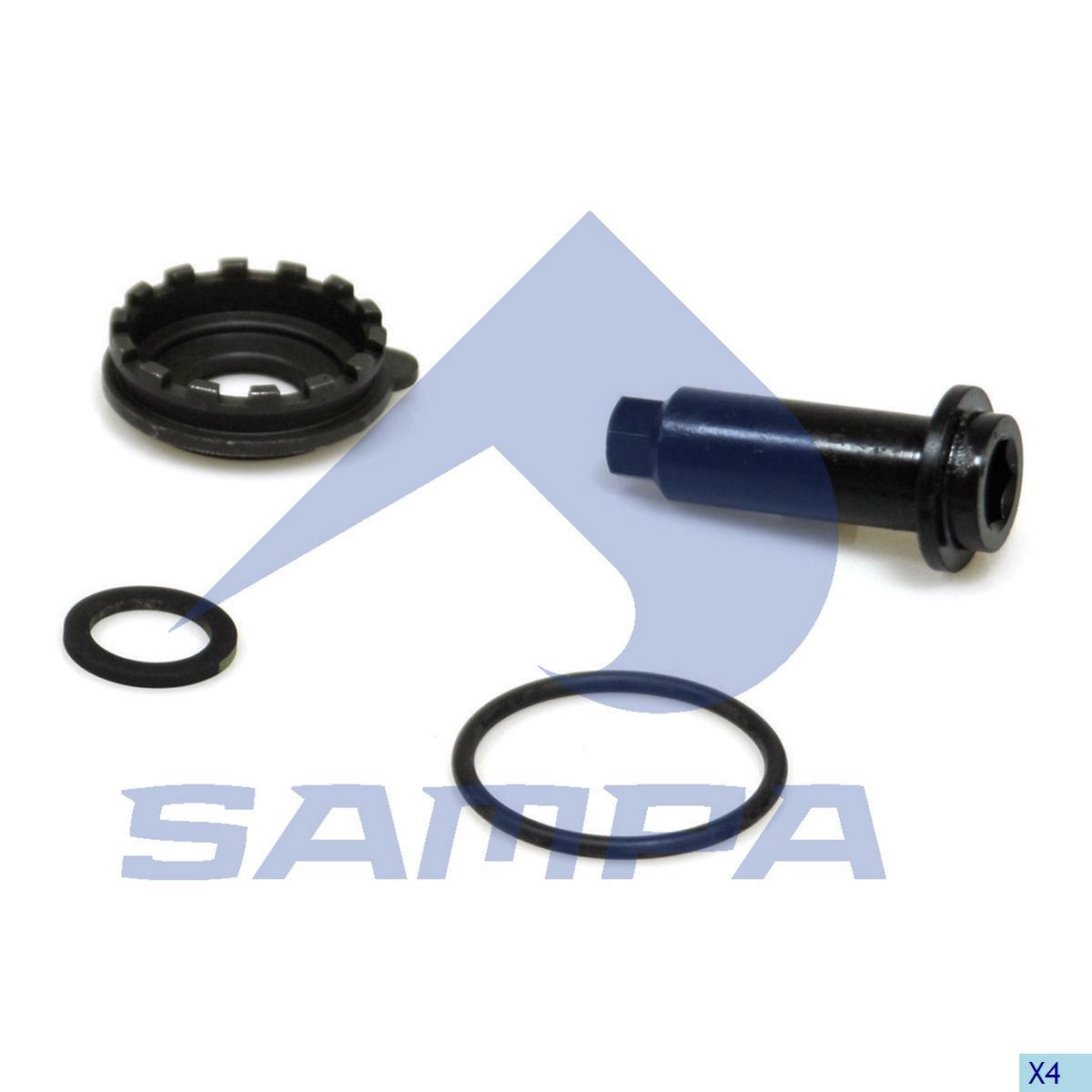 Repair Kit, Brake Adjuster, Ror-Meritor, Brake