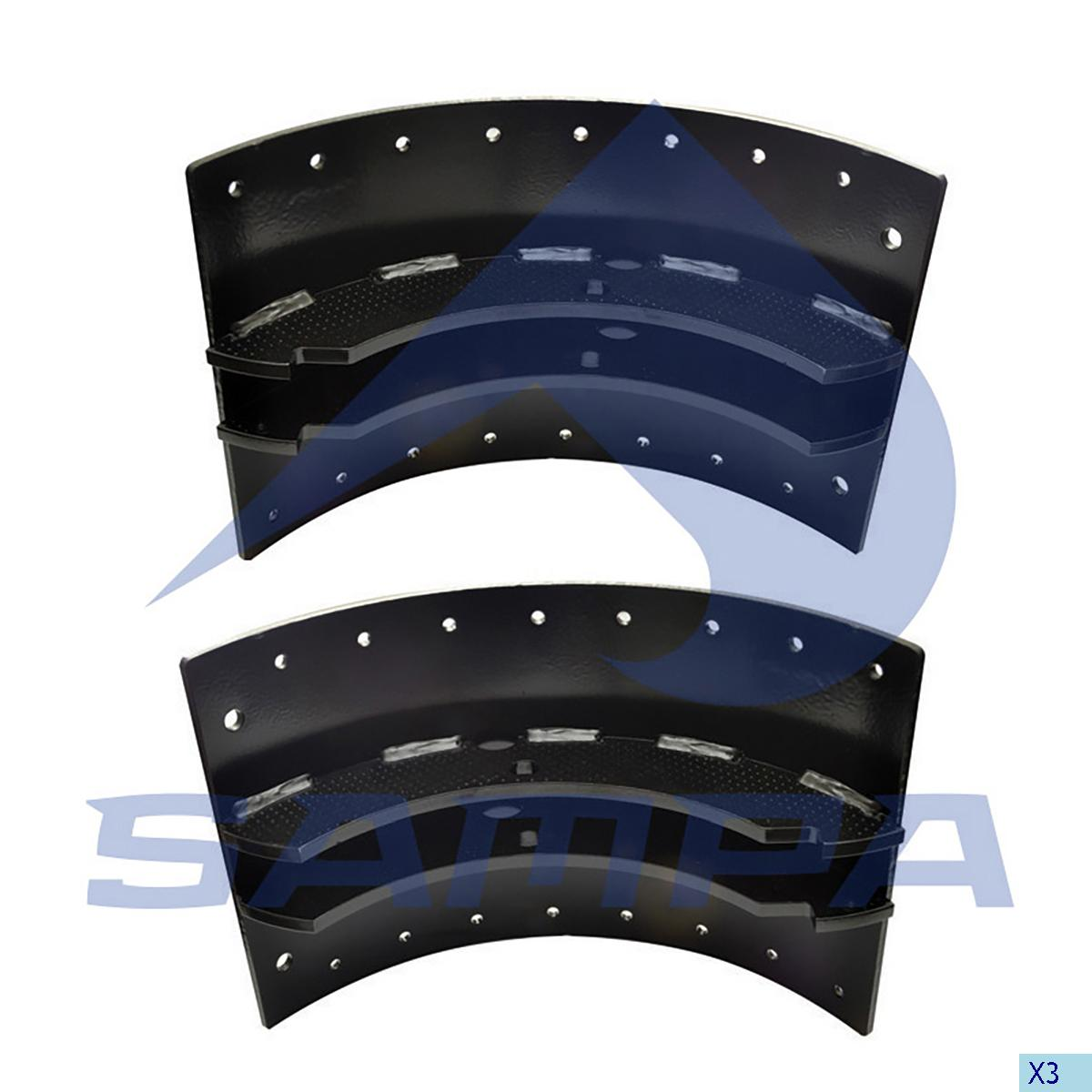 Brake Shoe Kit, Brake Drum, Volvo, Brake