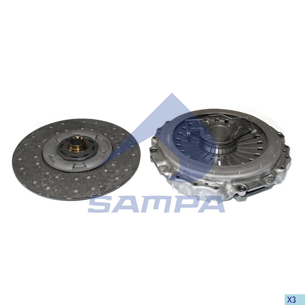 Repair Kit, Clutch, Volvo, Clutch