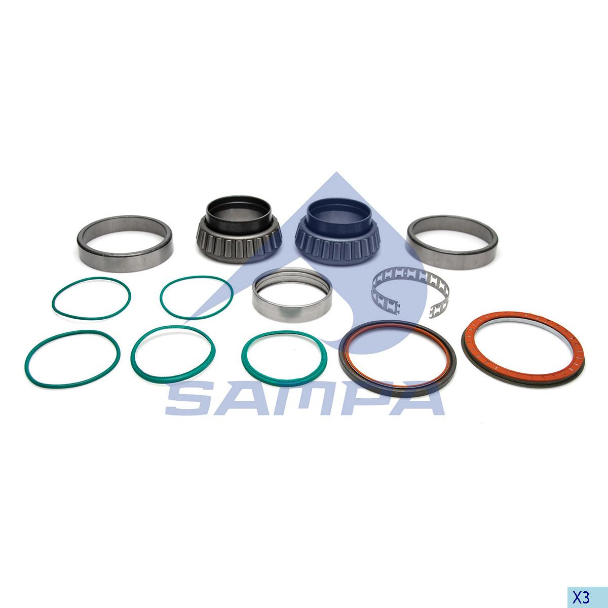 Repair Kit, Wheel Hub, R.V.I., Power Unit