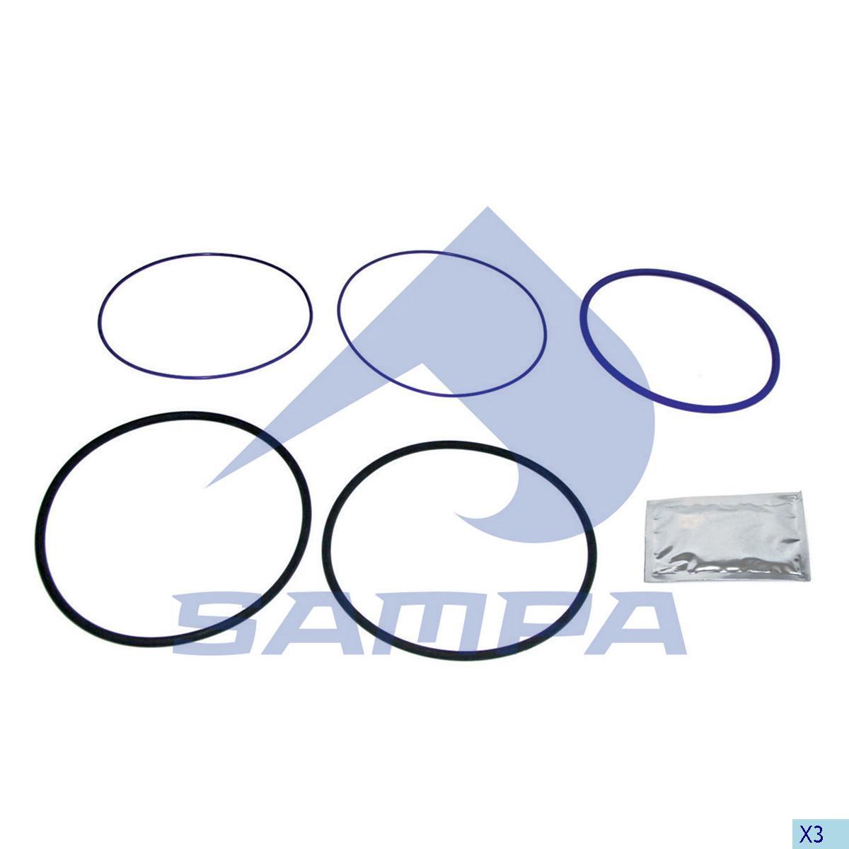 Gasket Kit, Cylinder Liner, Volvo, Engine