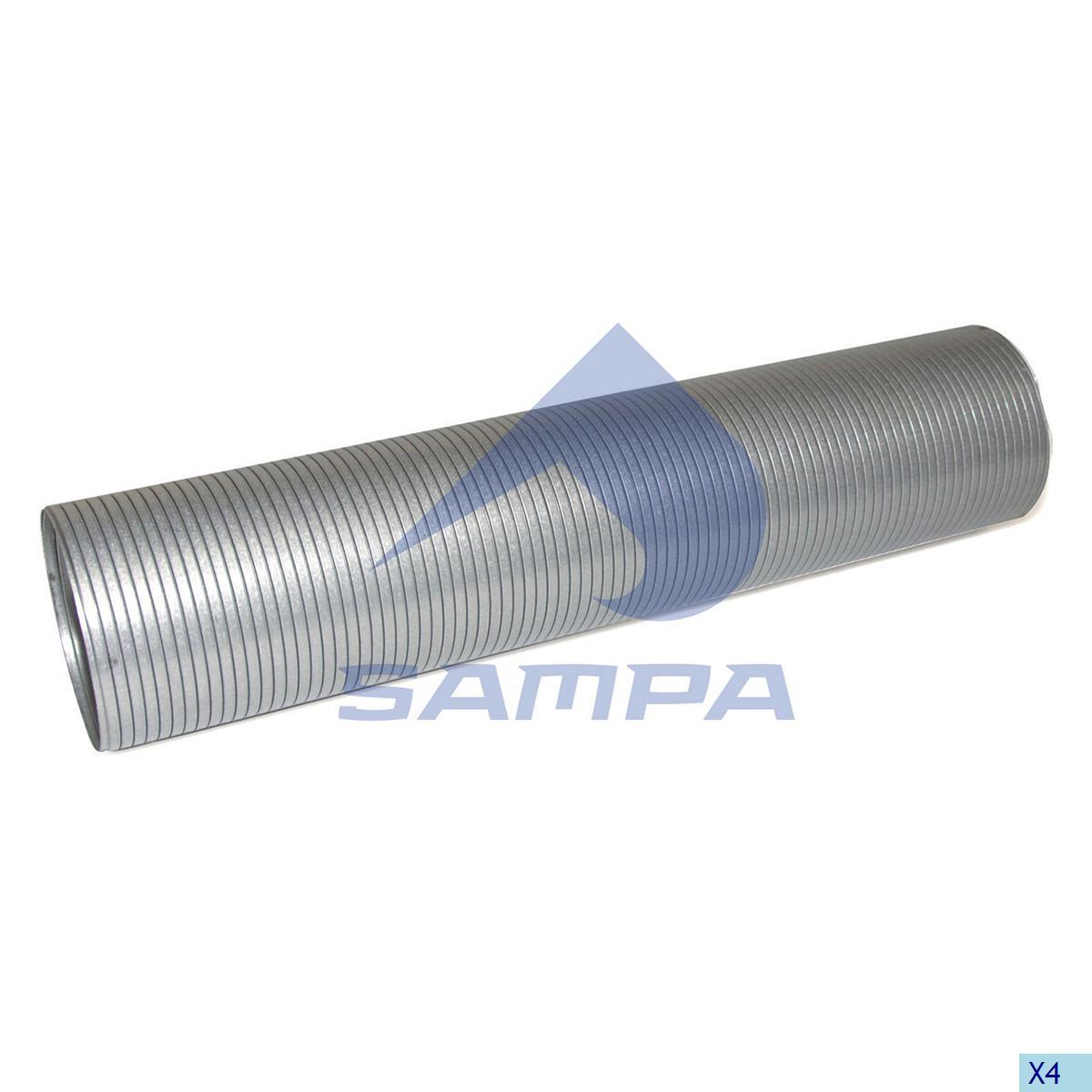 Flexible Pipe, Exhaust, Volvo, Engine