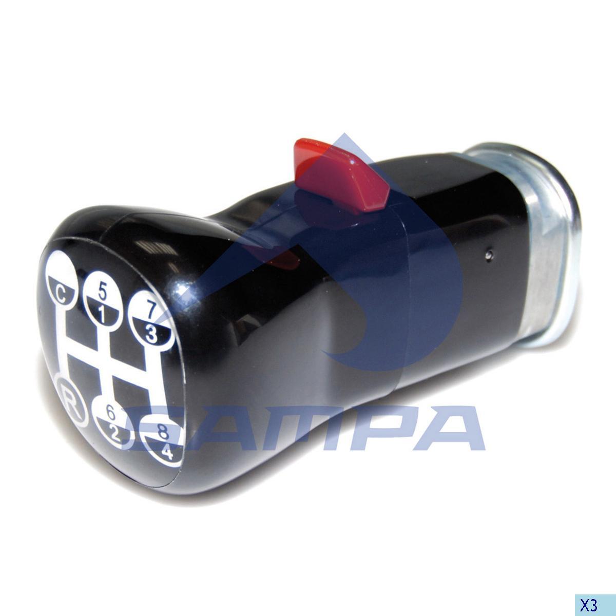 Knob, Gear Shift, Volvo, Gear Box